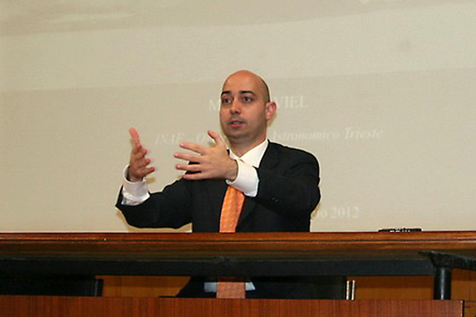 Il dott. Nico Longo in un suo precedente intervento al Gregorianum