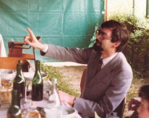1980: Granello ai festeggiamenti per il 18esimo anniversario di fondazione del Gregorianum