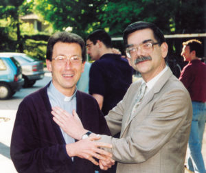 1993: don Renato Marangoni e Gianfranco Granello