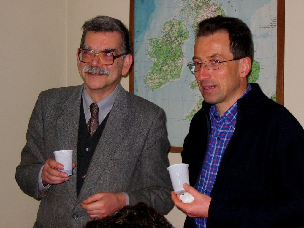 2004: con don Renato Marangoni