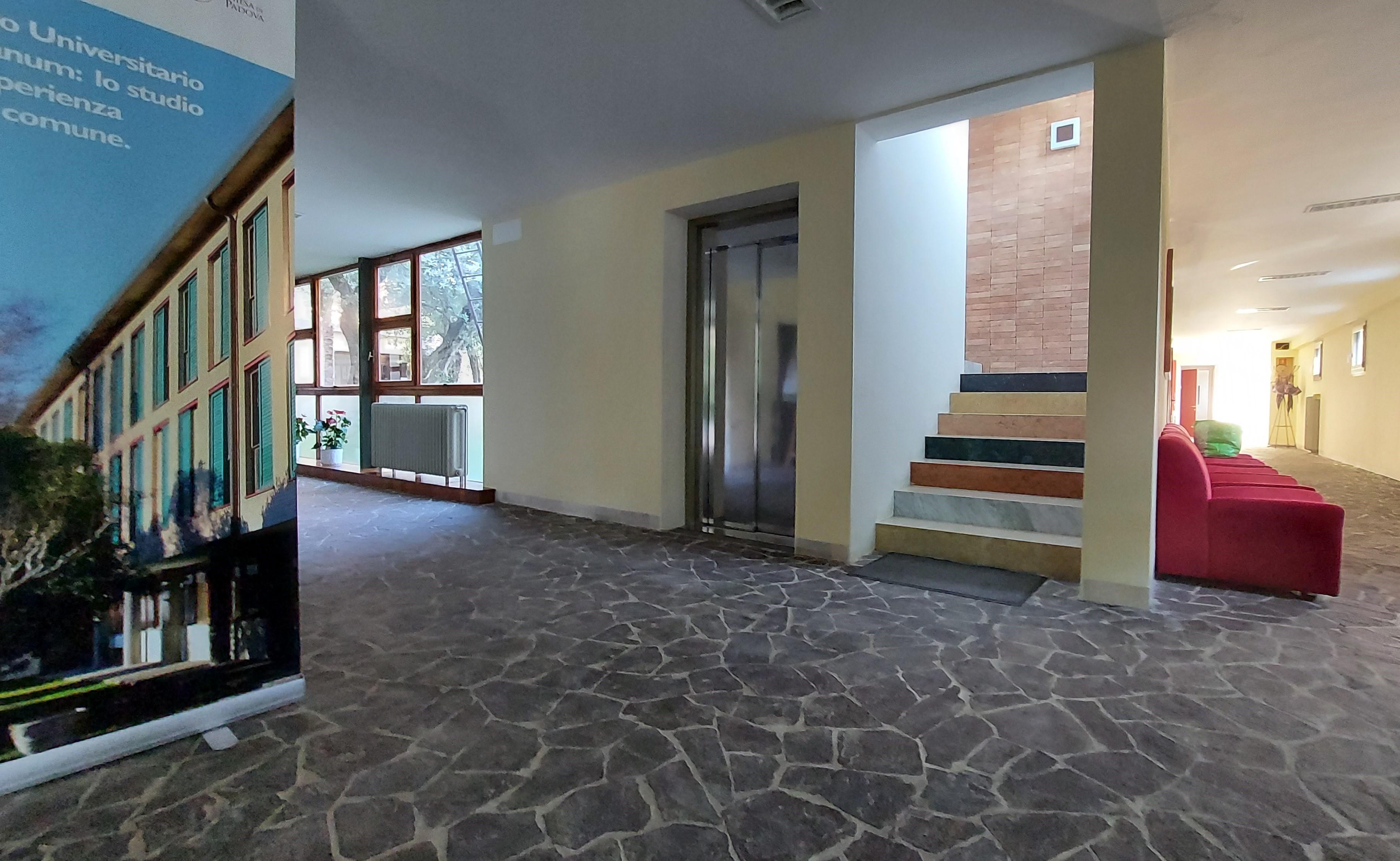 L'ingresso del Collegio Gregorianum